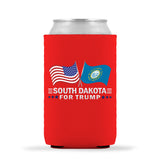 South Dakota For Trump Limited Edition Can Cooler 6 Pack