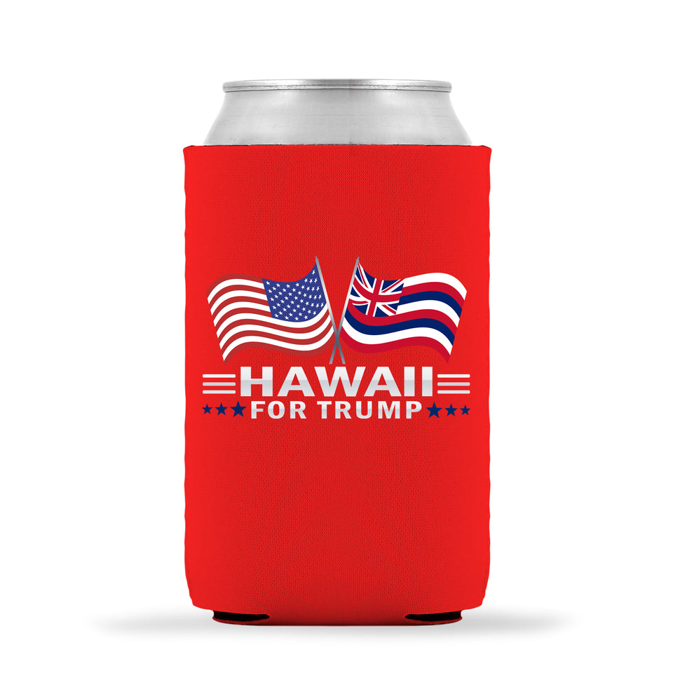 Hawaii For Trump Limited Edition Can Cooler 6 Pack