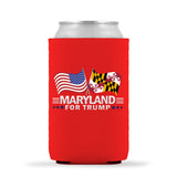 Maryland For Trump Limited Edition Can Cooler 4 Pack
