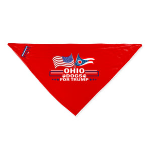 Ohio For Trump Dog Bandana Limited Edition