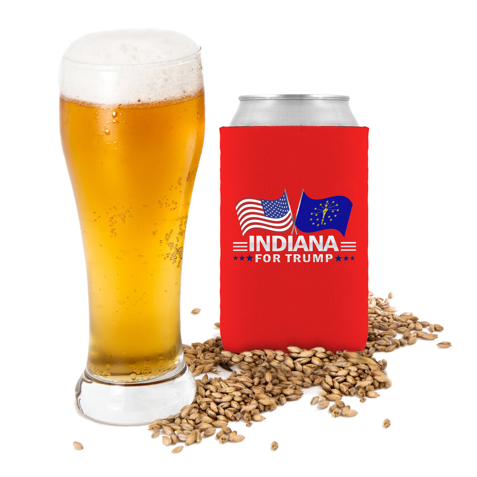 Indiana For Trump Limited Edition Can Cooler Lowest Price Ever!