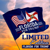 Florida For Trump 3 x 5 Flag - Limited Edition Dual Flags SUPER Sale!