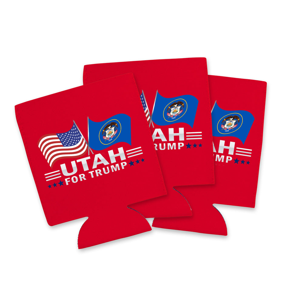 Utah For Trump Limited Edition Can Cooler 4 Pack