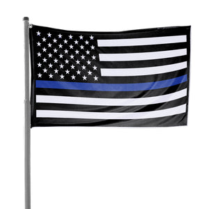Thin Blue Line American Flag 3 x 5 Flag