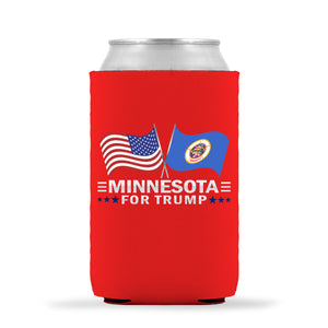 Minnesota For Trump Limited Edition Can Cooler 4 Pack