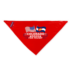 Colorado For Trump Dog Bandana Limited Edition Lowest Price Ever!