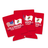 Illinois For Trump Limited Edition Can Cooler Lowest Price Ever!