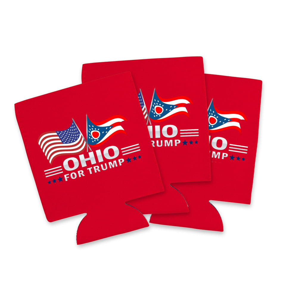 Ohio For Trump Limited Edition Can Cooler 6 Pack