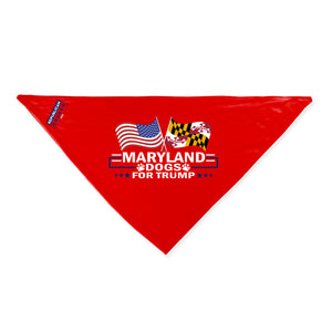 Maryland For Trump Dog Bandana Limited Edition