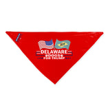 Delaware For Trump Dog Bandana Limited Edition Sale
