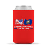 New Hampshire For Trump Limited Edition Can Cooler