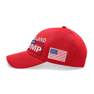Rhode Island For Trump Limited Edition Embroidered Hat