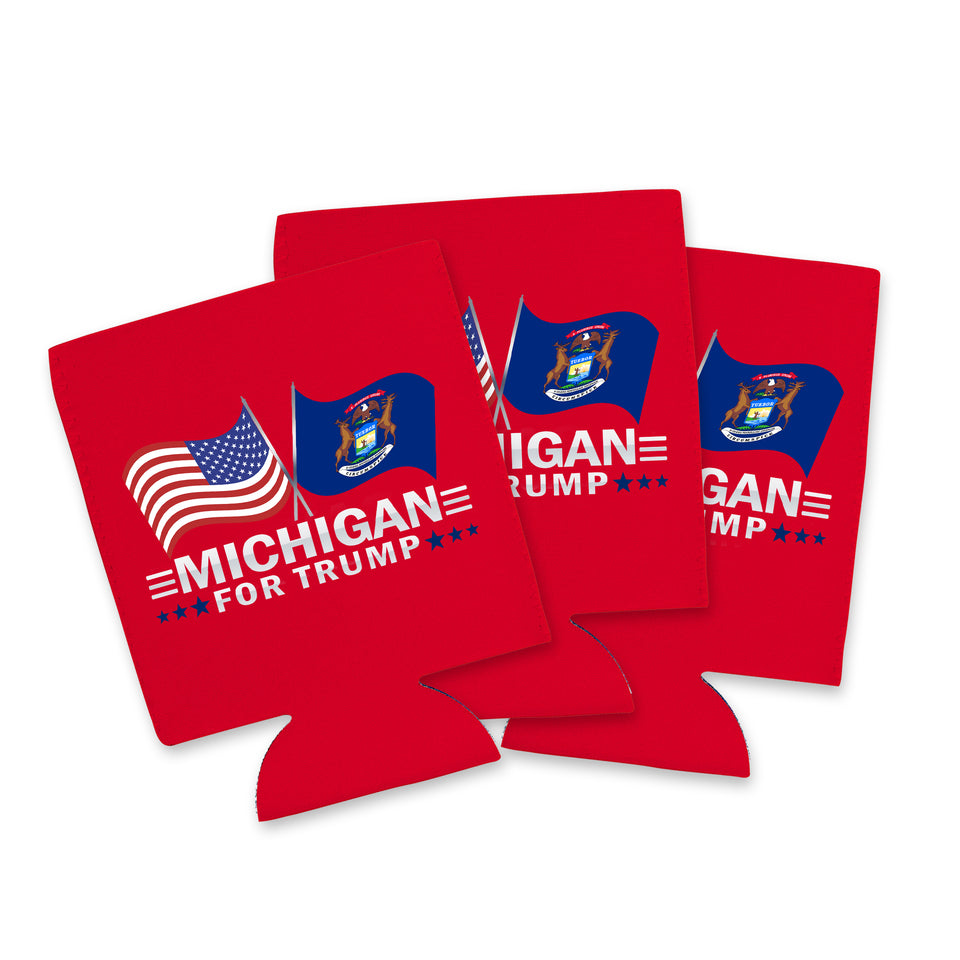 Michigan For Trump Limited Edition Can Cooler