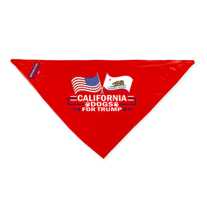 California For Trump Dog Bandana Limited Edition Lowest Price Ever!