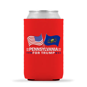Pennsylvania For Trump Limited Edition Can Cooler 6 Pack