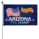 Arizona For Trump 3 x 5 Flag - Limited Edition Dual Flags