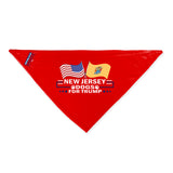 New Jersey For Trump Dog Bandana Limited Edition Lowest Price Ever!