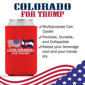 Colorado For Trump Limited Edition Can Cooler  6 Pack