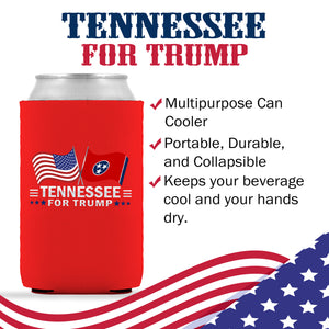 Tennessee For Trump Limited Edition Can Cooler 4 Pack