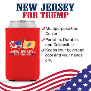 New Jersey For Trump Limited Edition Can Cooler Lowest Price Ever!