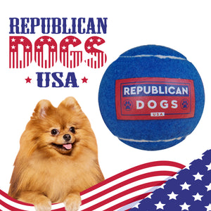 Official Republican Dogs Tennis Ball Sale
