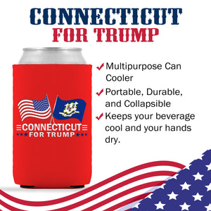 Connecticut For Trump Limited Edition Can Cooler Lowest Price Ever!