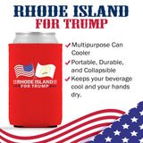 Rhode Island For Trump Limited Edition Can Cooler Lowest Price Ever!