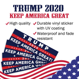 Trump 2020 Keep America Great Bumper Sticker