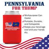 Pennsylvania For Trump Limited Edition Can Cooler 4 Pack