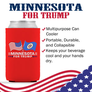 Minnesota For Trump Limited Edition Can Cooler