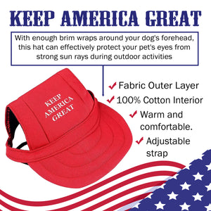 Trump 2020 Keep America Great Dog Hat