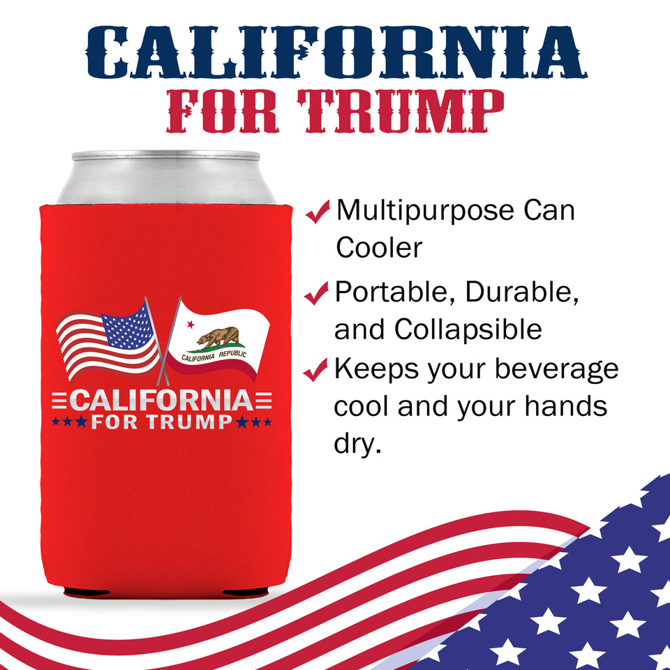 California For Trump Limited Edition Can Cooler