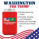 Washington For Trump Limited Edition Can Cooler 4 Pack