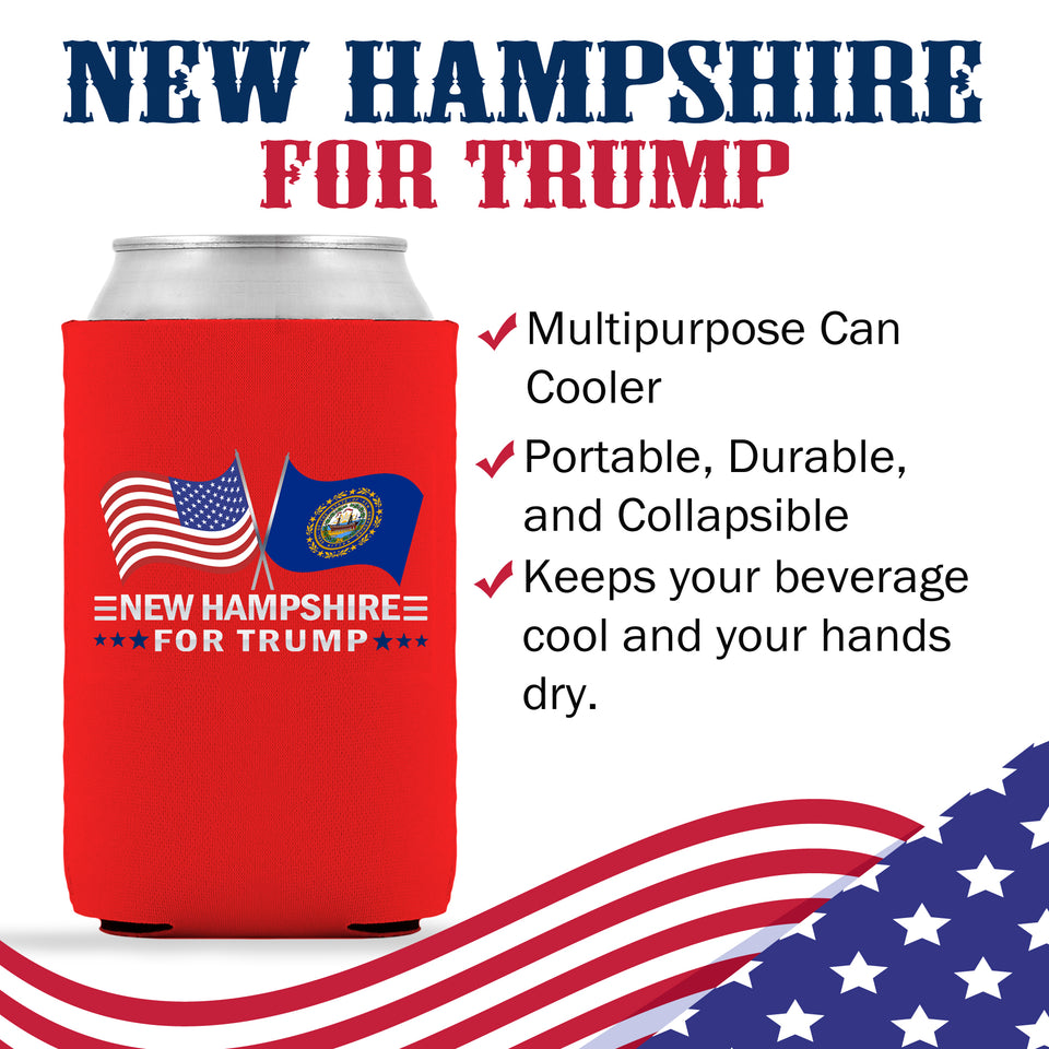 New Hampshire For Trump Limited Edition Can Cooler Lowest Price Ever!