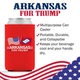 Arkansas For Trump Limited Edition Can Cooler 6 Pack