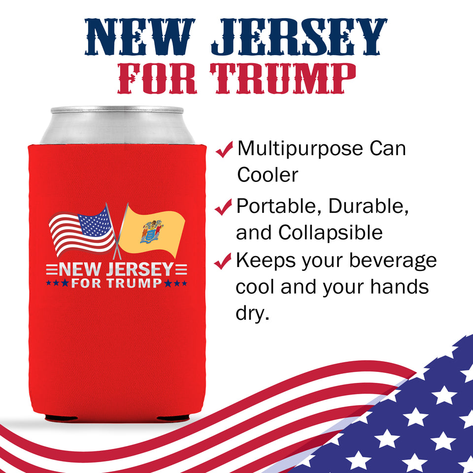 New Jersey For Trump Limited Edition Can Cooler 6 Pack