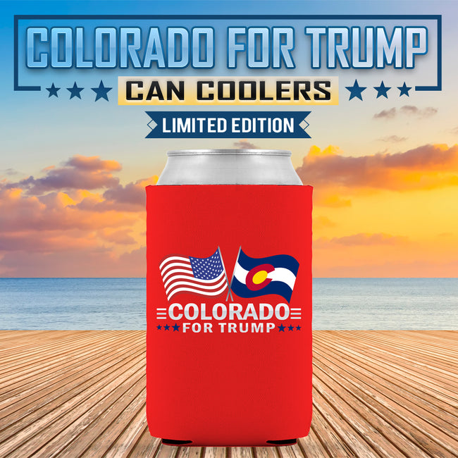 Colorado For Trump Limited Edition Can Cooler