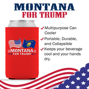 Montana For Trump Limited Edition Can Cooler