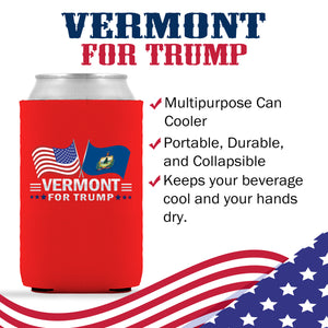 Vermont For Trump Limited Edition Can Cooler 6 Pack