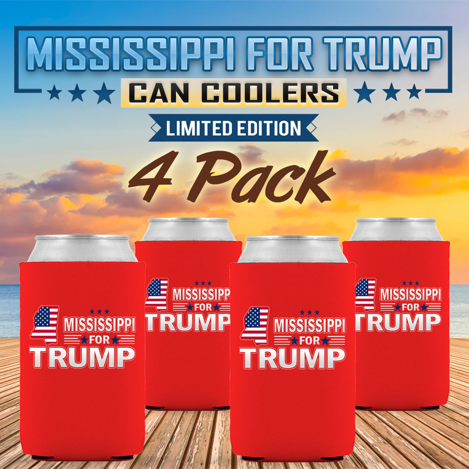 Mississippi For Trump Limited Edition Can Cooler 4 Pack