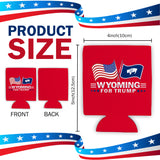 Wyoming For Trump Limited Edition Can Cooler Lowest Price Ever!