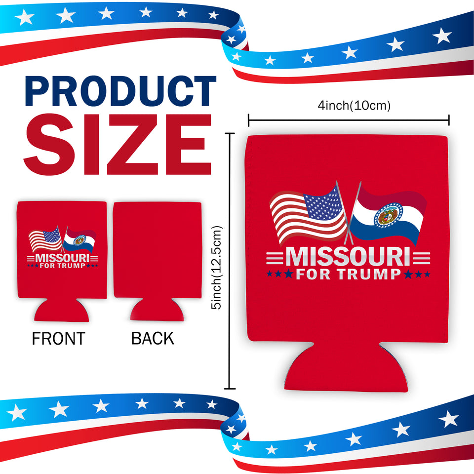 Missouri For Trump Limited Edition Can Cooler 4 Pack