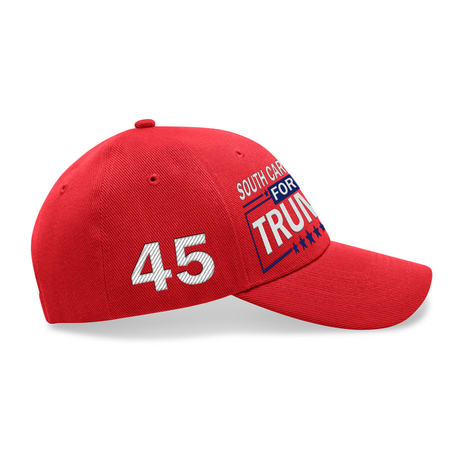 South Carolina For Trump Limited Edition Embroidered Hat Sale