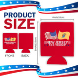 New Jersey For Trump Limited Edition Can Cooler 4 Pack