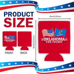 Oklahoma For Trump Limited Edition Can Cooler Lowest Price Ever!