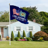 Delaware For Trump 3 x 5 Flag - Limited Edition Dual Flags Sale Lowest Price Ever!