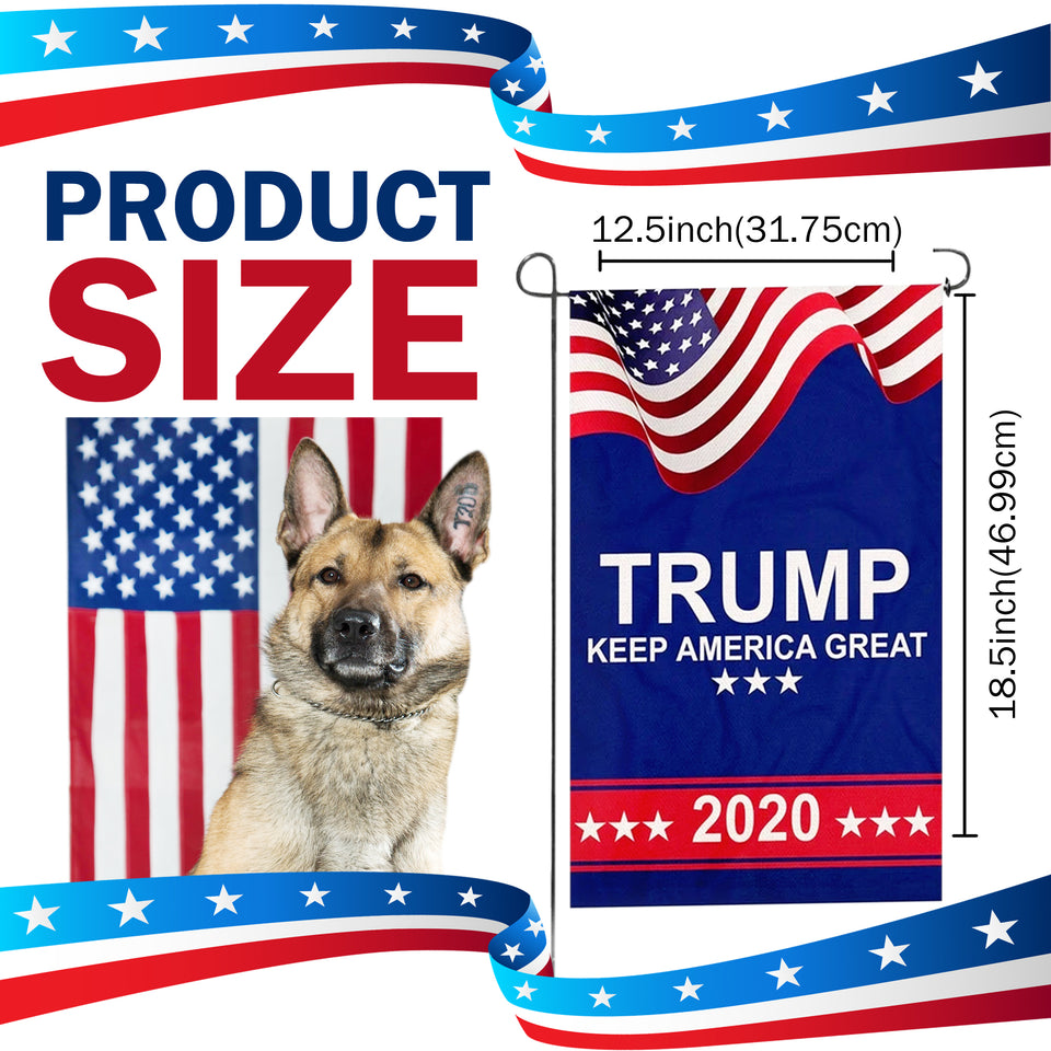 Trump 2020 Keep America Great Yard Flag Sale