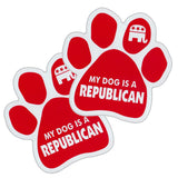 My Dog Is A Republican Car Magnet Sale
