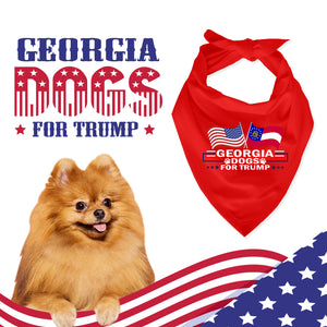 Georgia For Trump Dog Bandana Limited Edition Lowest Price Ever!