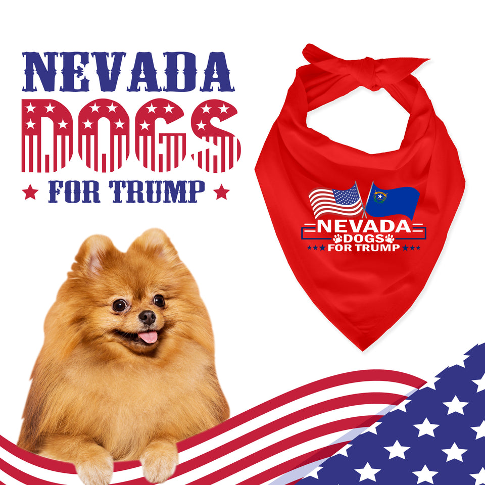 Nevada For Trump Dog Bandana Limited Edition Lowest Price Ever!